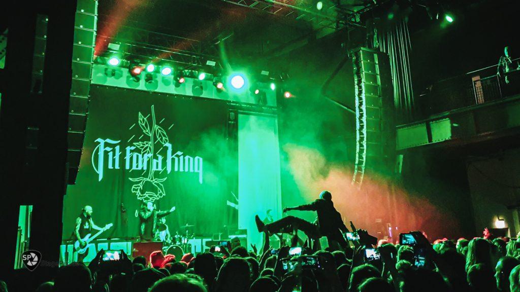 Fit Fot A King live at Palladium Köln